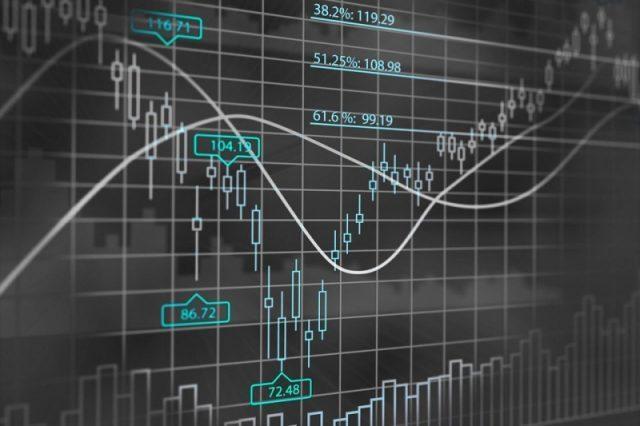 биржа график