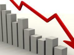 снижение продаж