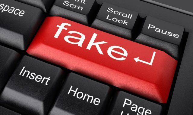 Fake-Website