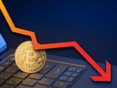 цена биткоина падает