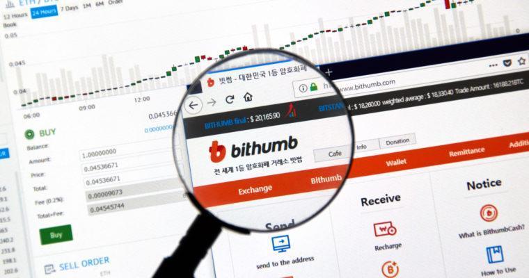 Биржа Bithumb обяжет пройти верификацию иностранных трейдеров