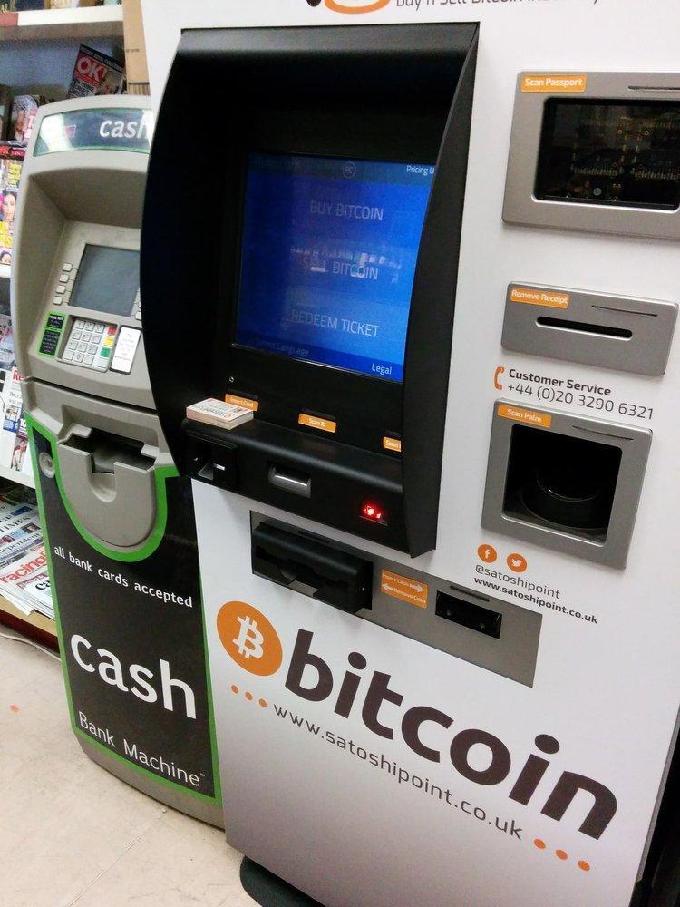 bankomat bitkoin - Почему биткоин-банкоматы могут стать хорошей бизнес идеей