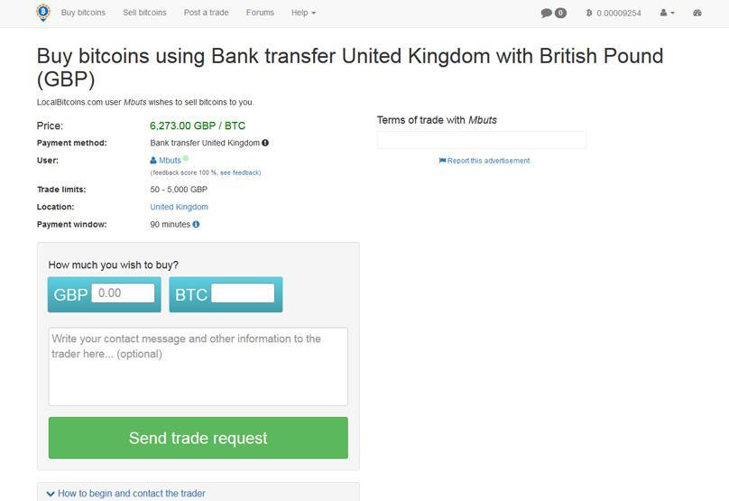 transfer local bitcoin)